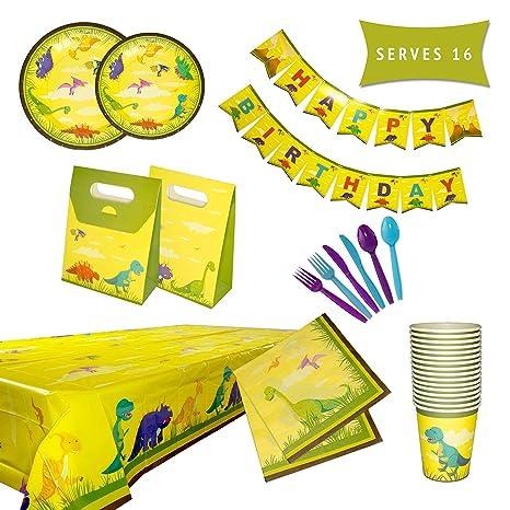 Amazon.com: Juego de accesorios para fiestas de cumpleaños ...