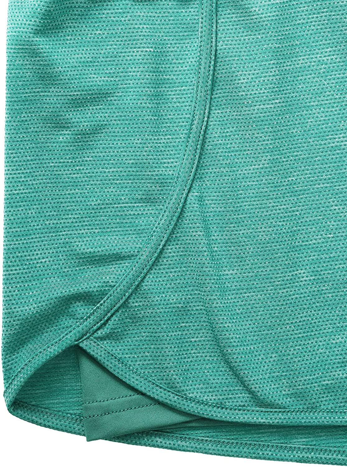Blevonh Women Yoga Running Shorts 2 in 1 Workout Athletic Shorts with Pockets S-3XL