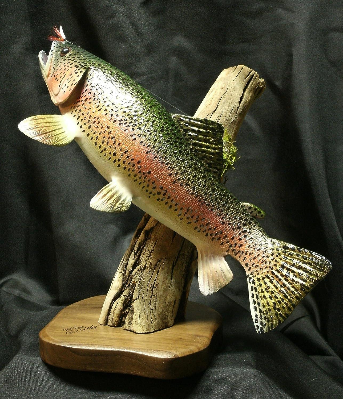 Rainbow Trout Sculpture