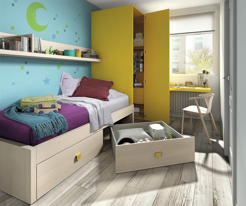 ambiato habitación de los Niños Vita 28 Esquina Armario Armario con Mucho Espacio, Cama con Mucho Espacio, Escritorio, sin Planificación Posible