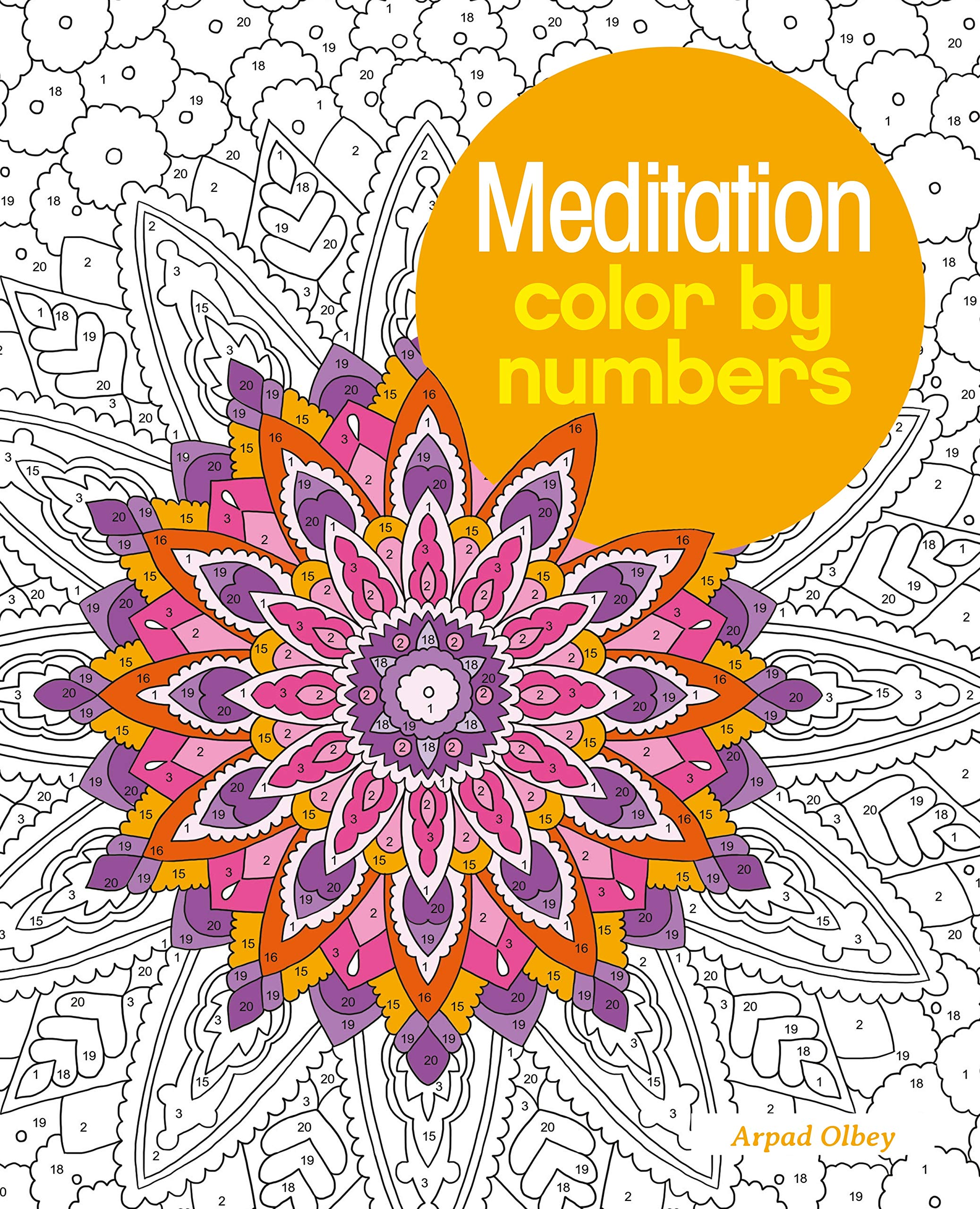 Meditation Color by Numbers Arcturus Color by Numbers Collection ...