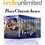 Paws, Claws and Aww's: A Nine Book Paranormal & Shifter Romance Bundle
