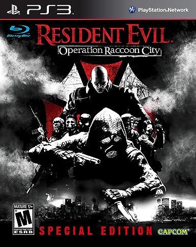 Capcom Resident Evil: Operation Raccoon City, PS3, ESP PlayStation 3 Español vídeo -