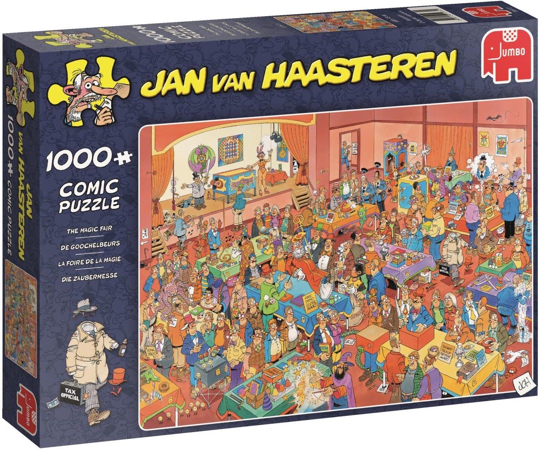 Jumbo 19072 The Magic Fair Jigsaw Puzzle 1000 Pieces, Blue