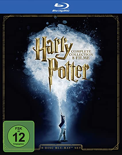 Harry Potter Complete Bluray