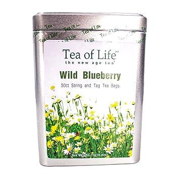 Amazon com : Tea of Life Wild Blueberry Tea : Grocery