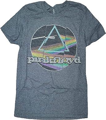 Amplified Gris Pink Floyd /'Neon Dark Side/' T-Shirt