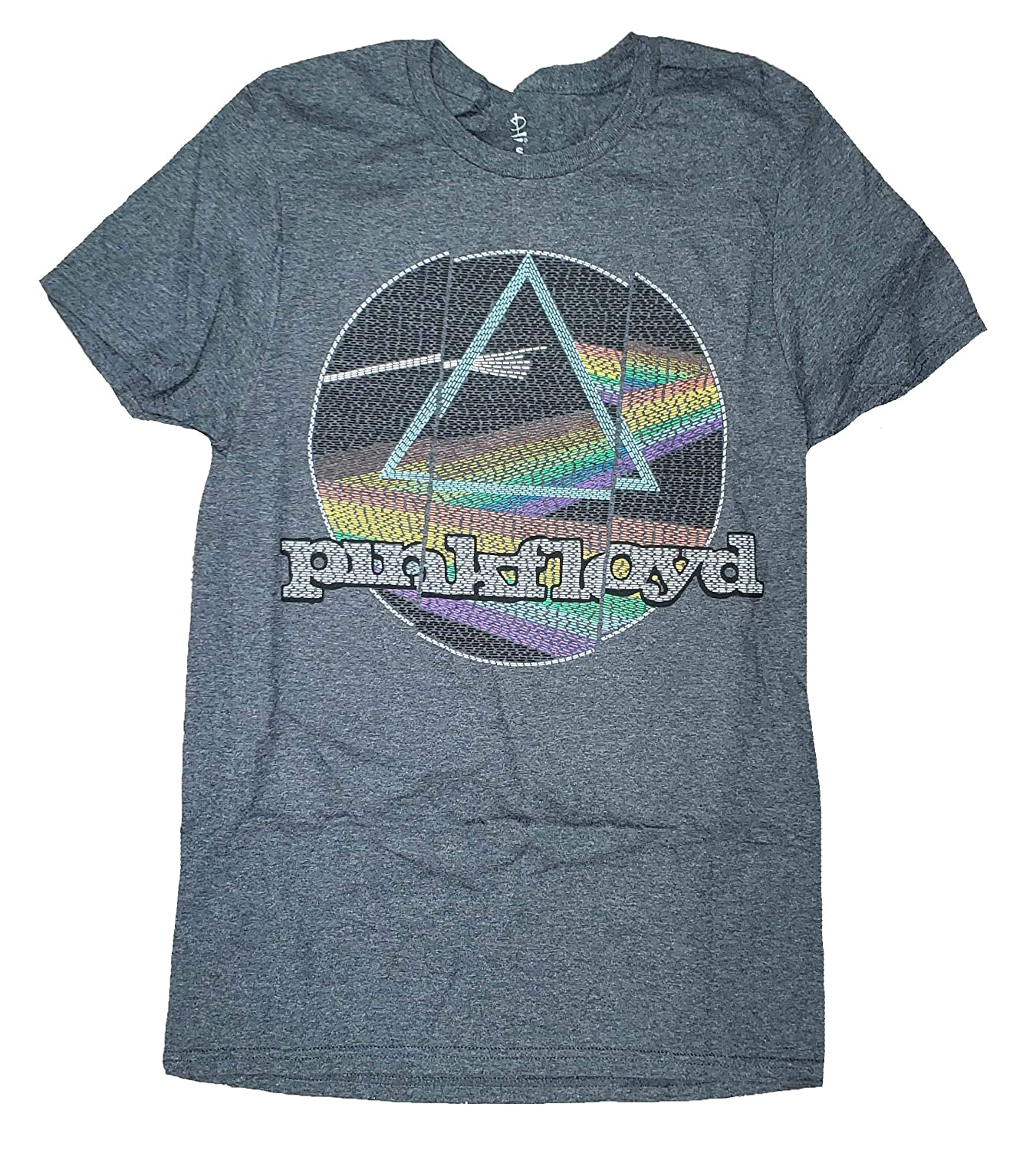 Pink Floyd Dark Side of The Moon Gray Graphic T-Shirt