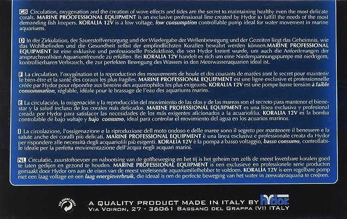 Amazon.com : Hydor Koralia 900 Controllable DC Pump, 12V, 350-900 GPH : Aquarium Water Pumps : Pet Supplies