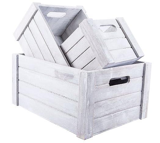 3 x medium white wooden crates display plants fruits storage 3 x medium white wooden crates display plants fruits storage easter gift hamperdium size negle Choice Image