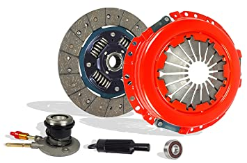 Clutch With Slave Kit Works With Gmc Canyon Chevy Colorado Canyon Isuzu I-280 I-290 Z71 Z85 SL SLE SLT WT Extended Fleet 2004-2012 2.8L 2770CC 169Cu.