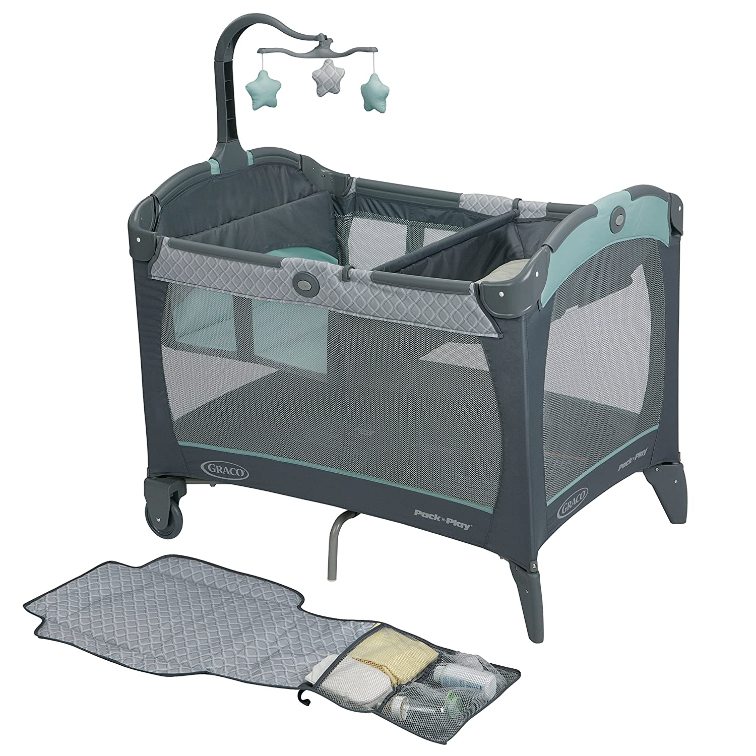 Amazon Graco Pack n Play Playard with Change n Carry