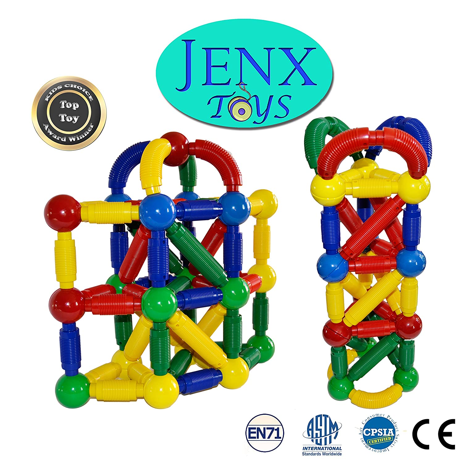 But With Several Different Shapes Including Bendable Rods And Balls A Carry Bag Activity Guide These Are Popular For Playtime Older Siblings