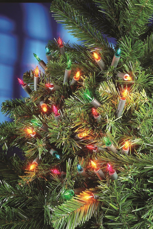 200 christmas fairy lights xmas tree decorations multi coloured amazoncouk lighting - Christmas Fairy Lights