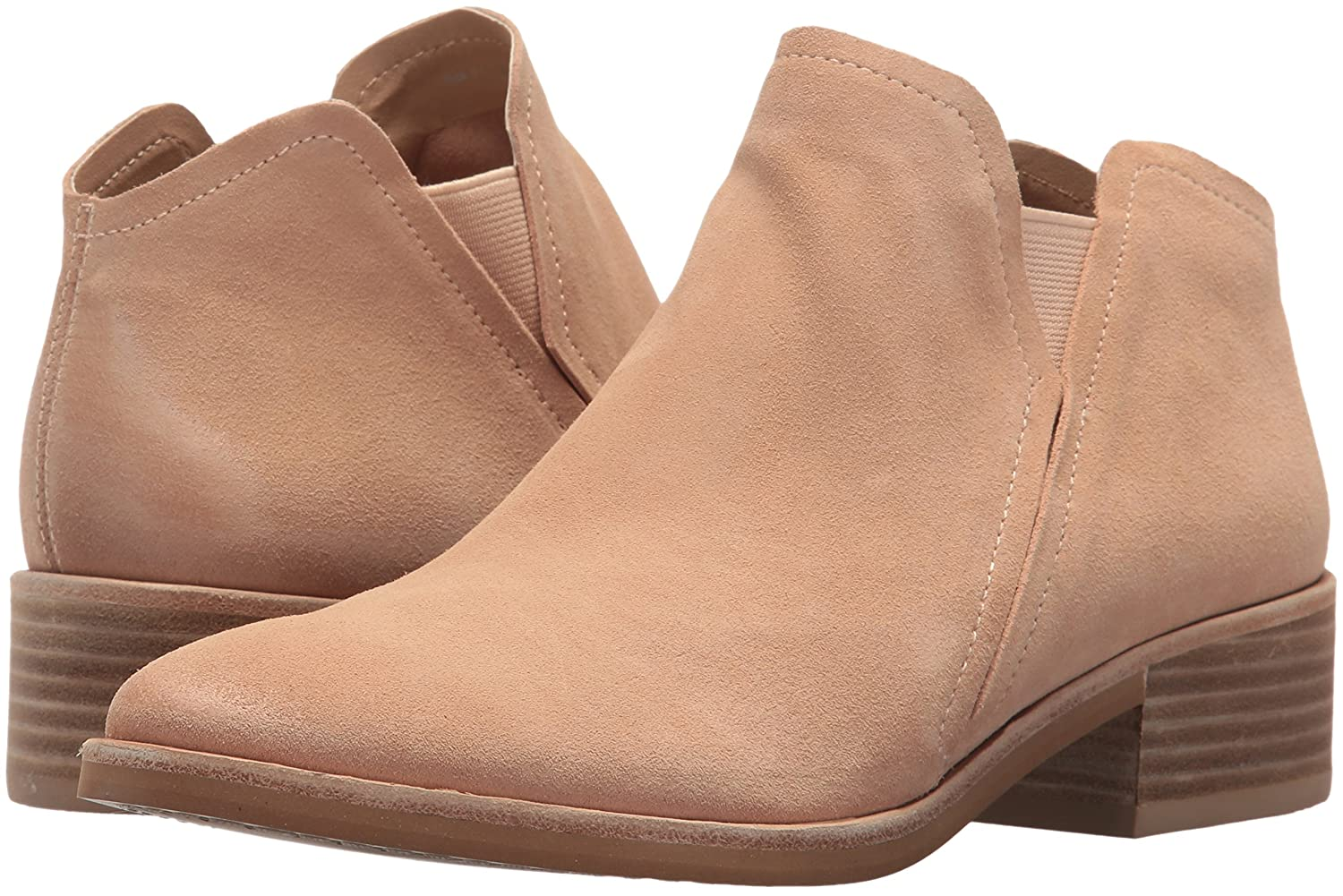 Dolce Vita Womens TAY Ankle Boot Blush Suede 7.5 Medium US