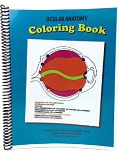 Ocular Anatomy Coloring Book 3rd Edition