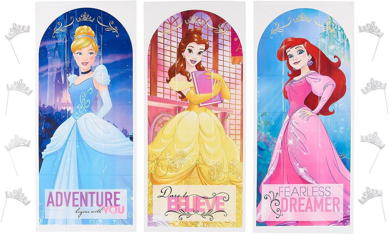 American Greetings Disney Princess Backdrop & Props Photo Kit