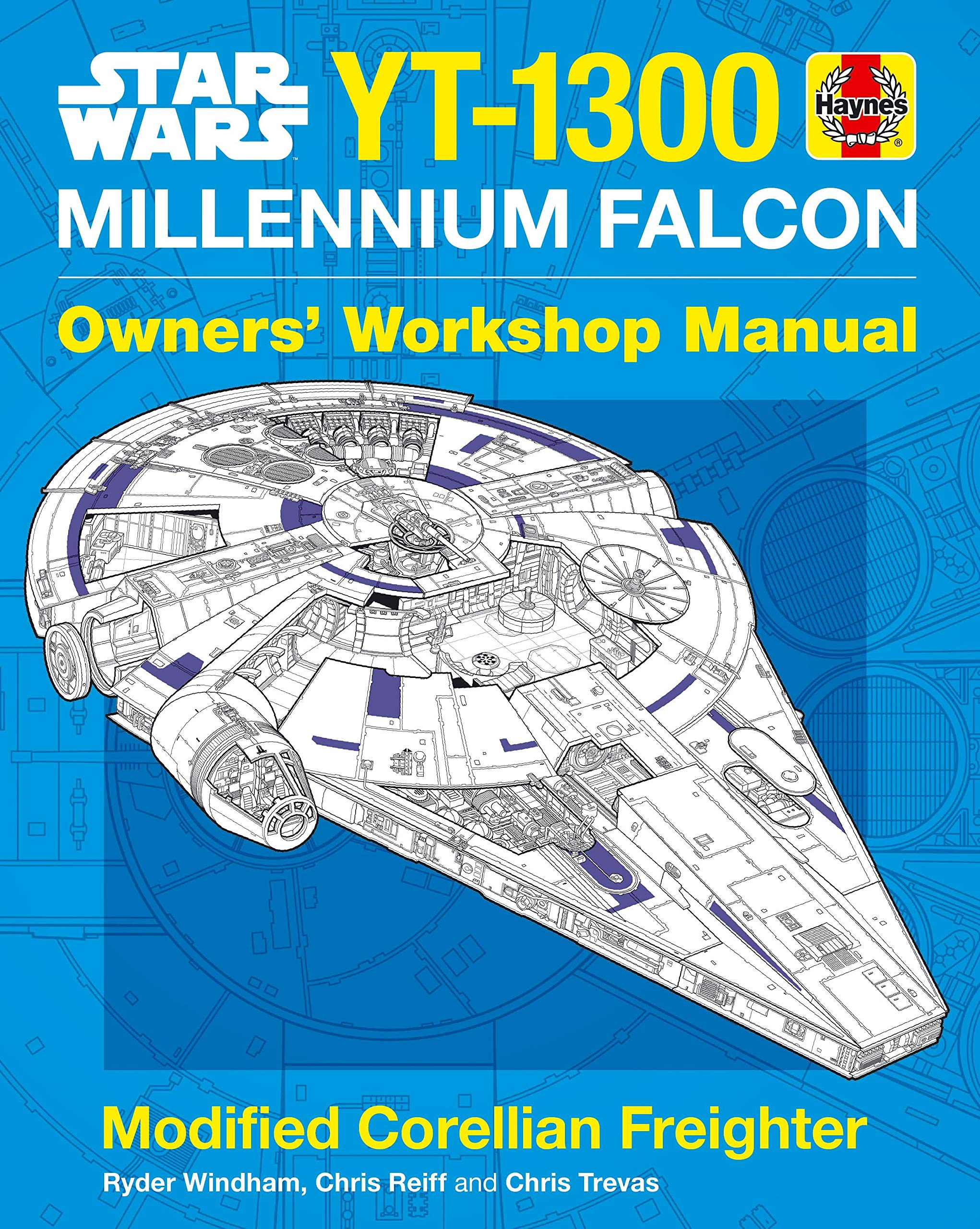 Star Wars YT-1300 Millennium Falcon Manual (Owners Workshop Manual)  Hardcover – 6 Nov 2018