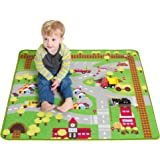 "Kids Play Car Rug - Community Carpet Mat Regular, 39"" x 35"""