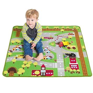 kids play car rug community carpet mat regular 39