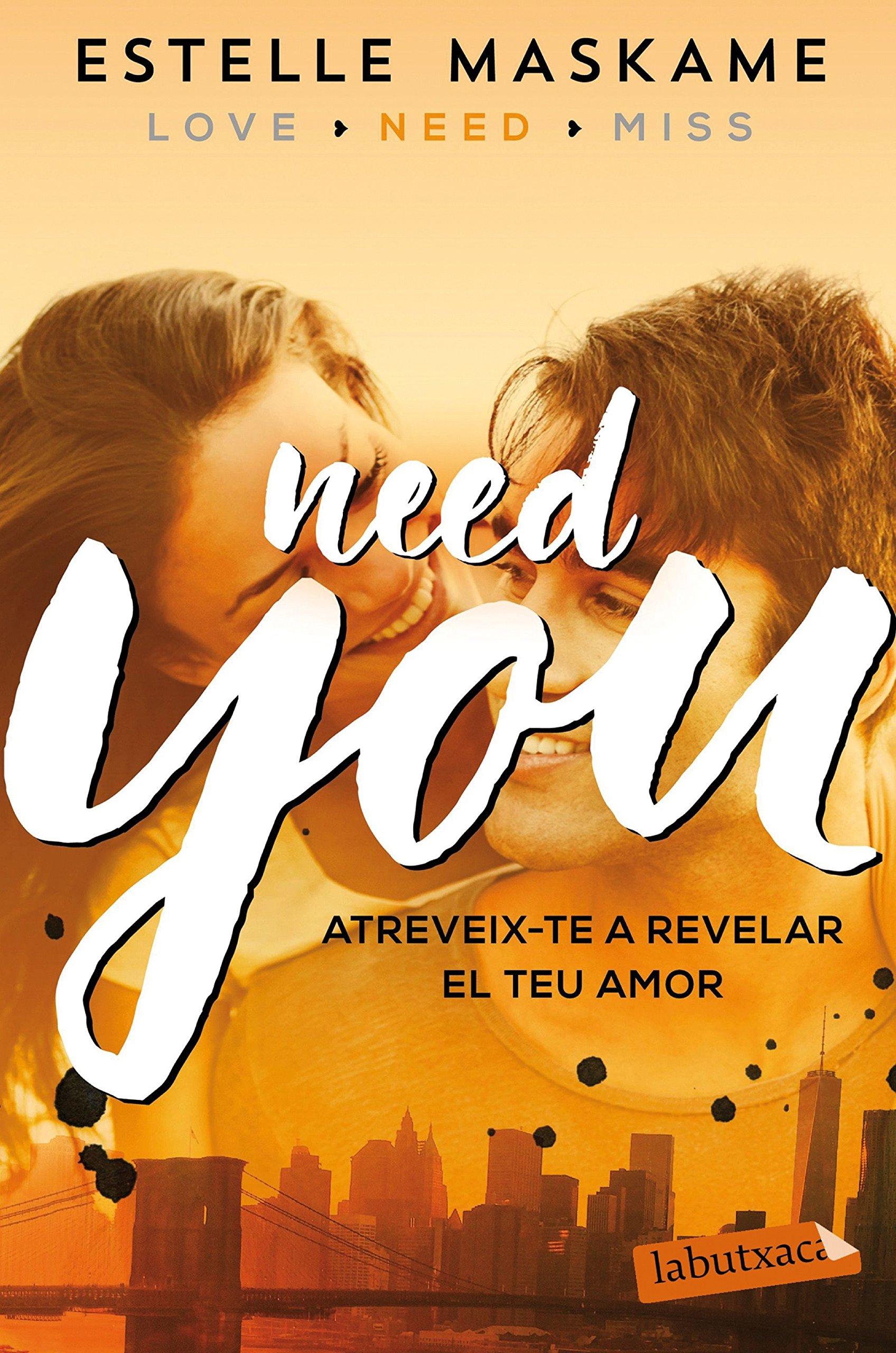 Need You (LABUTXACA): Amazon.es: Maskame, Estelle, Roig ...