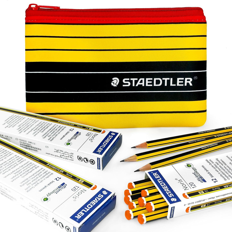 Staedtler–Noris 120–36x 2B Premium matite di grafite e corrispondenza Staedtler Noris Pencil Case Staedtler - Noris