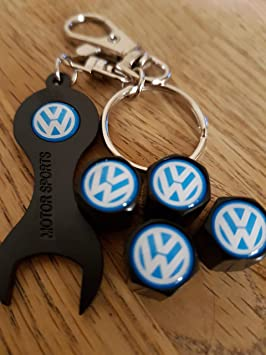 Speed Demons® VW Volkswagen azul rueda negra superior ...