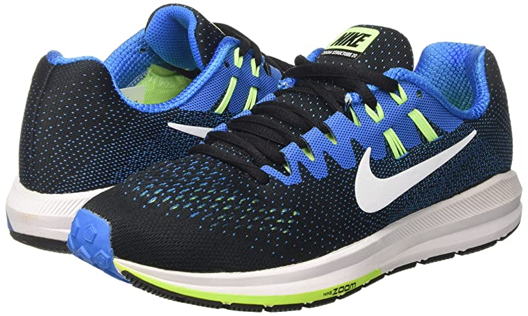 Amazon.com | NIKE Air Zoom Structure 20 Running Men's Shoes | Road Running
