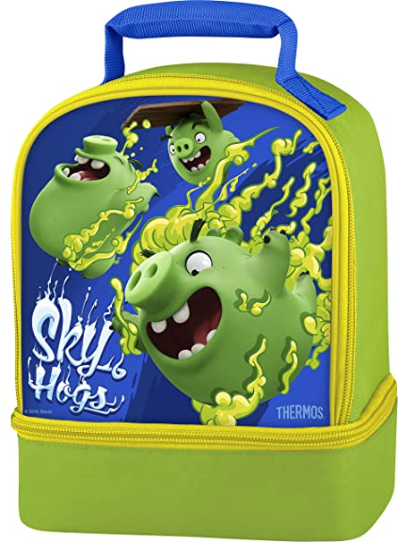Amazon.com  Thermos Dual Lunch Kit, Angry Birds Sky Hogs  Kitchen ... e50566272c