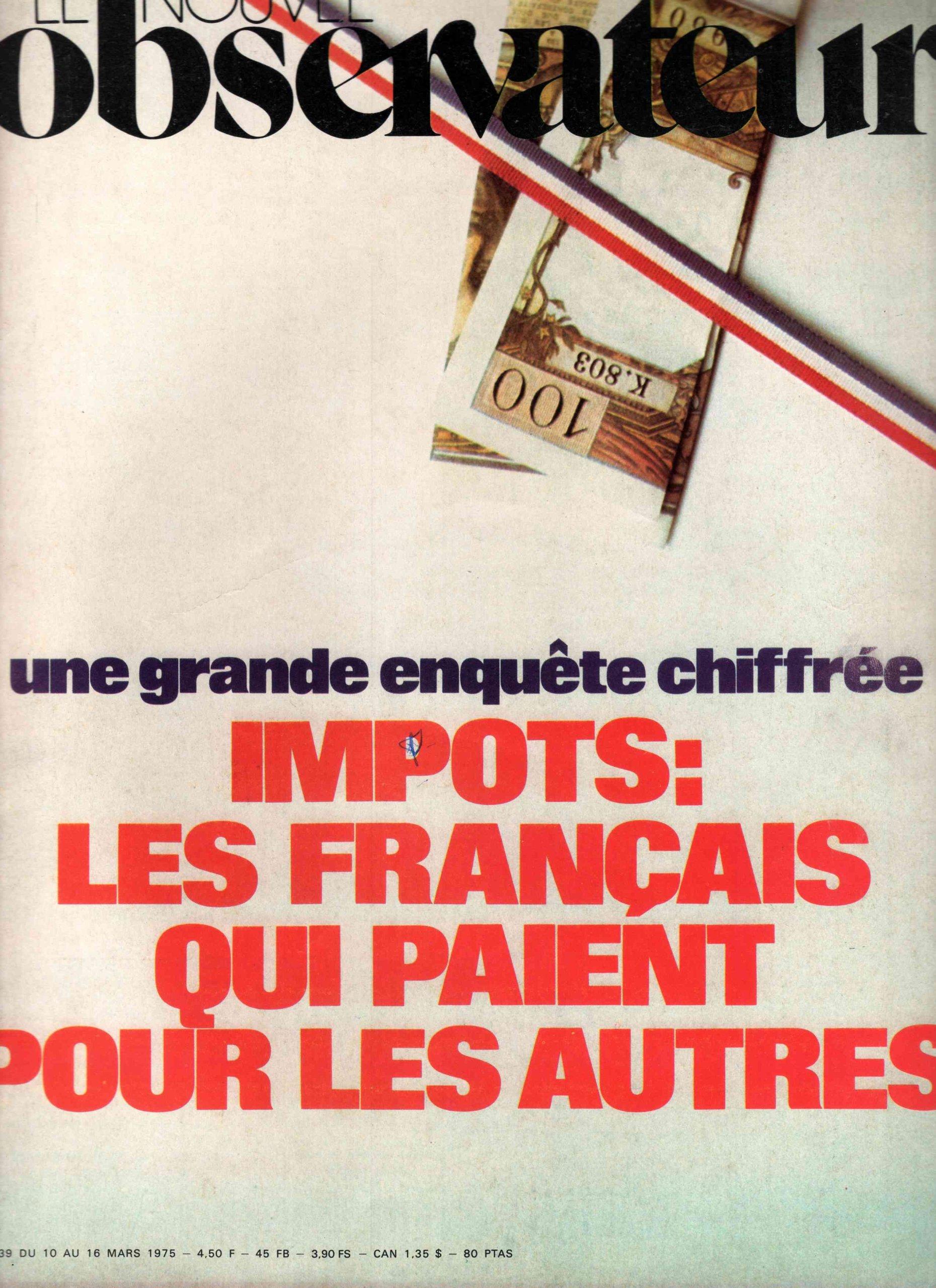 impots des français de l & 39
