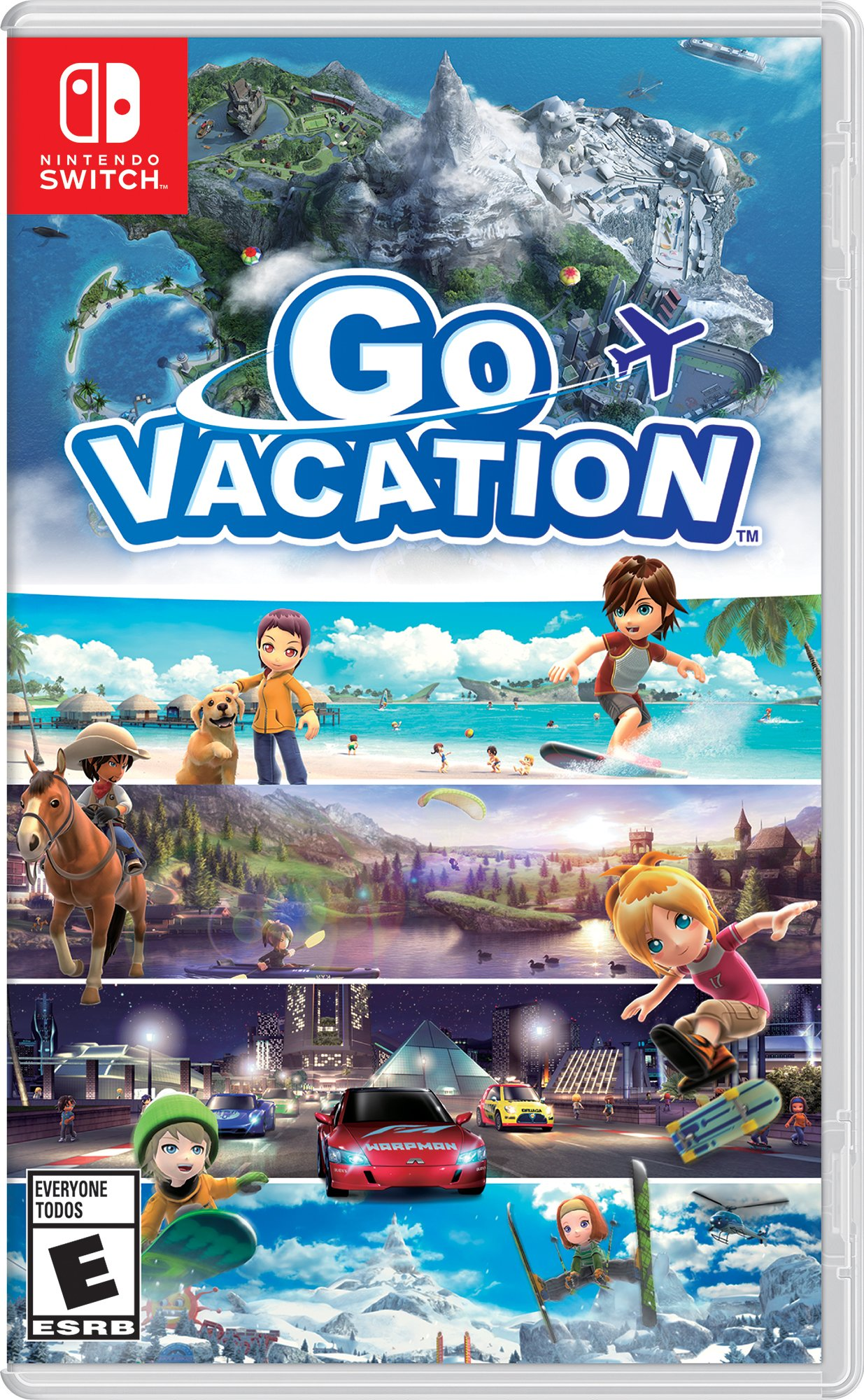 Amazon.com: Go Vacation - Nintendo Switch: Nintendo of America ...