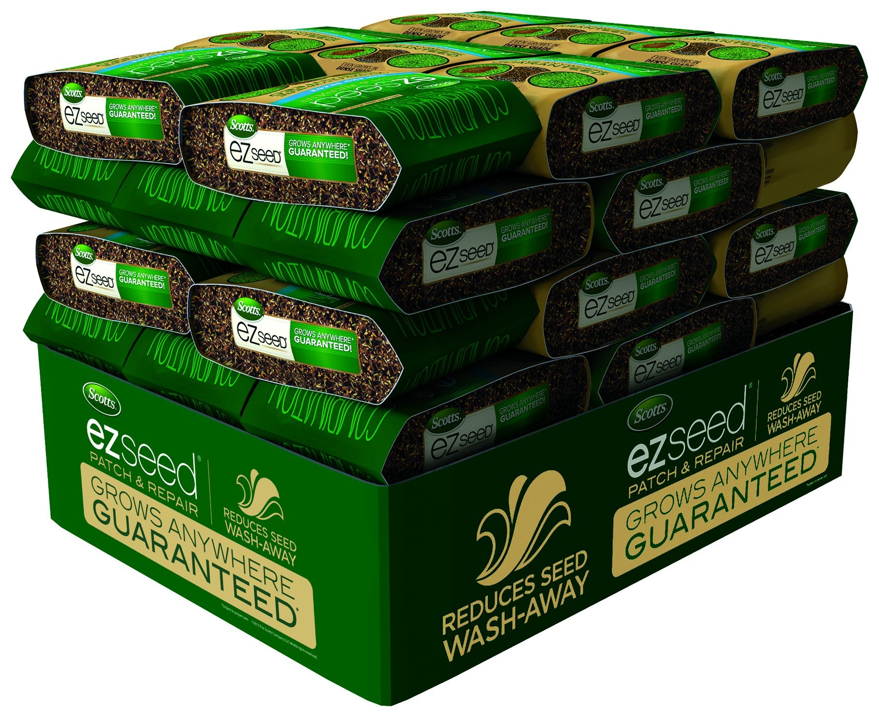Scotts 17519 EZ Tall Fescue Grass Seed Mix (4 Pack), 10 lb
