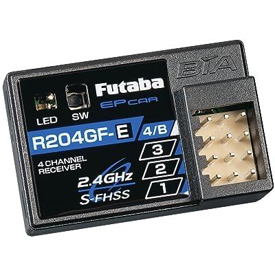 Futaba R204Gf-E 2.4G SFHSS Micro 4 Channel Receiver: Toys & Games