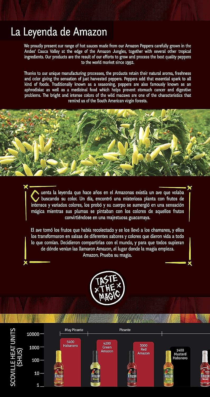 Amazon Salsa Chipotle Suave - 155 ml