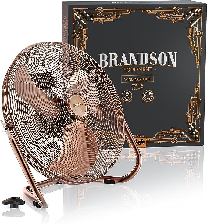 Brandson - Ventilador de Mesa 38,5 cm - Tamaño del aspa del Rotor ...
