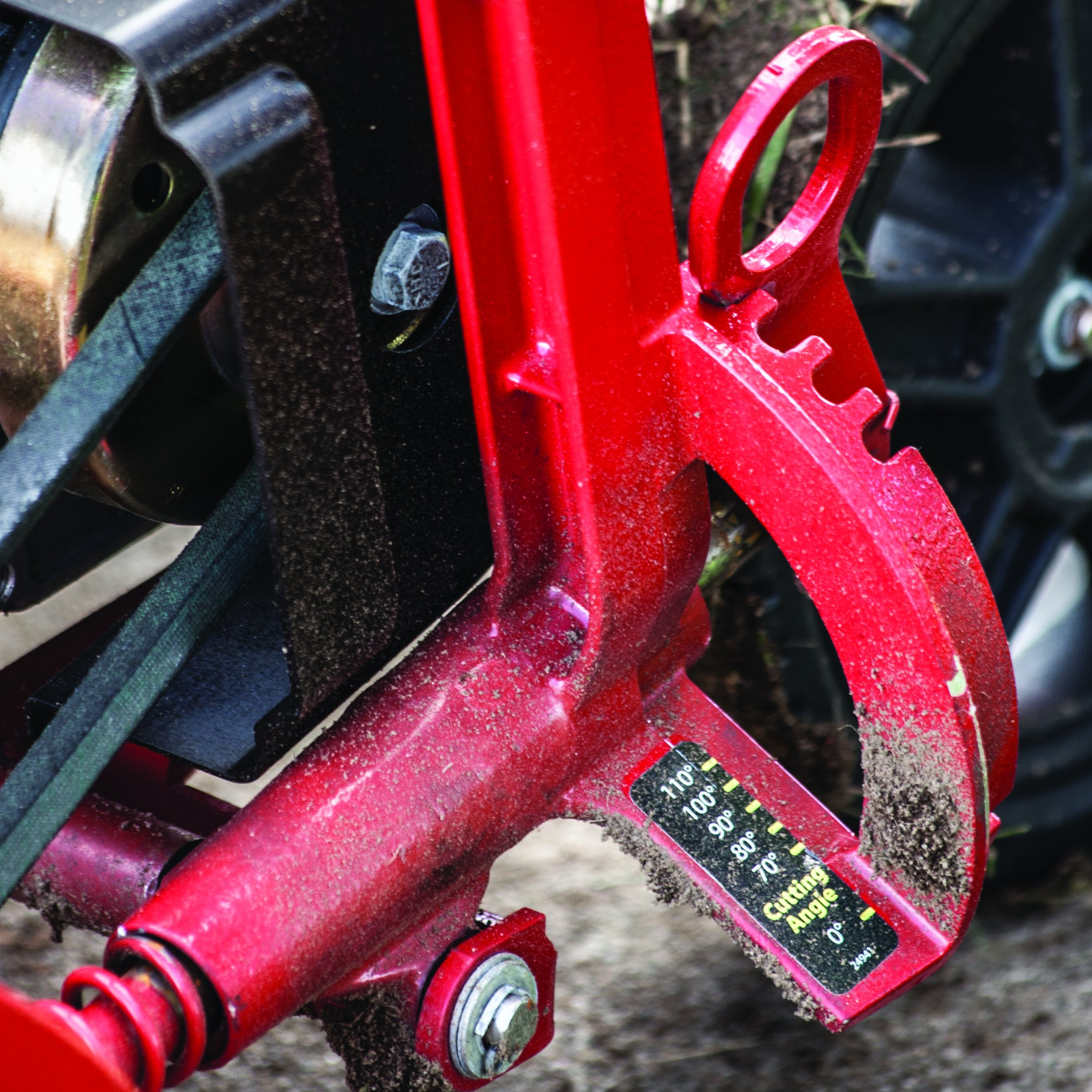 Earthquake 24000 Curb Wheel & Lightweight Trimming Tool Power Edger by Earthquake (Image #4)