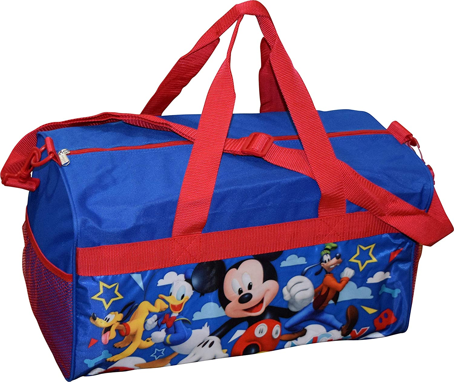Mickey And The Roadster Racers 18 Carry-On Duffel Bag