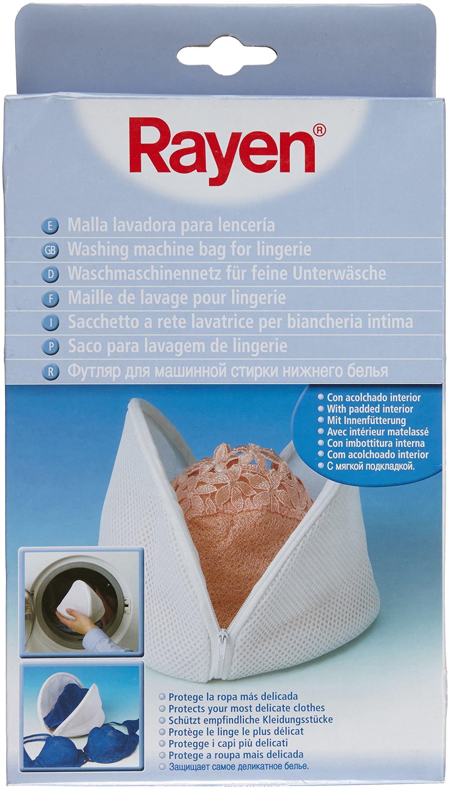 Rayen 6391 - Malla lavadora lenceria, funda para ropa delicada, color blanco product image