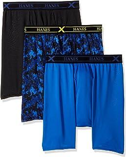 Men/'s Boxer Briefs Stretch Poly Bonus Pack UP9B4B