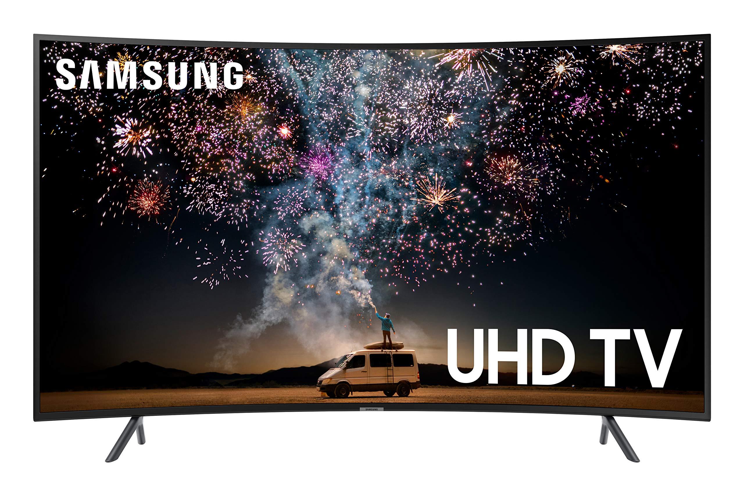 Samsung UN55RU7300FXZA CURVED 55'' 4K UHD 7 Series Smart TV (2019) by Samsung