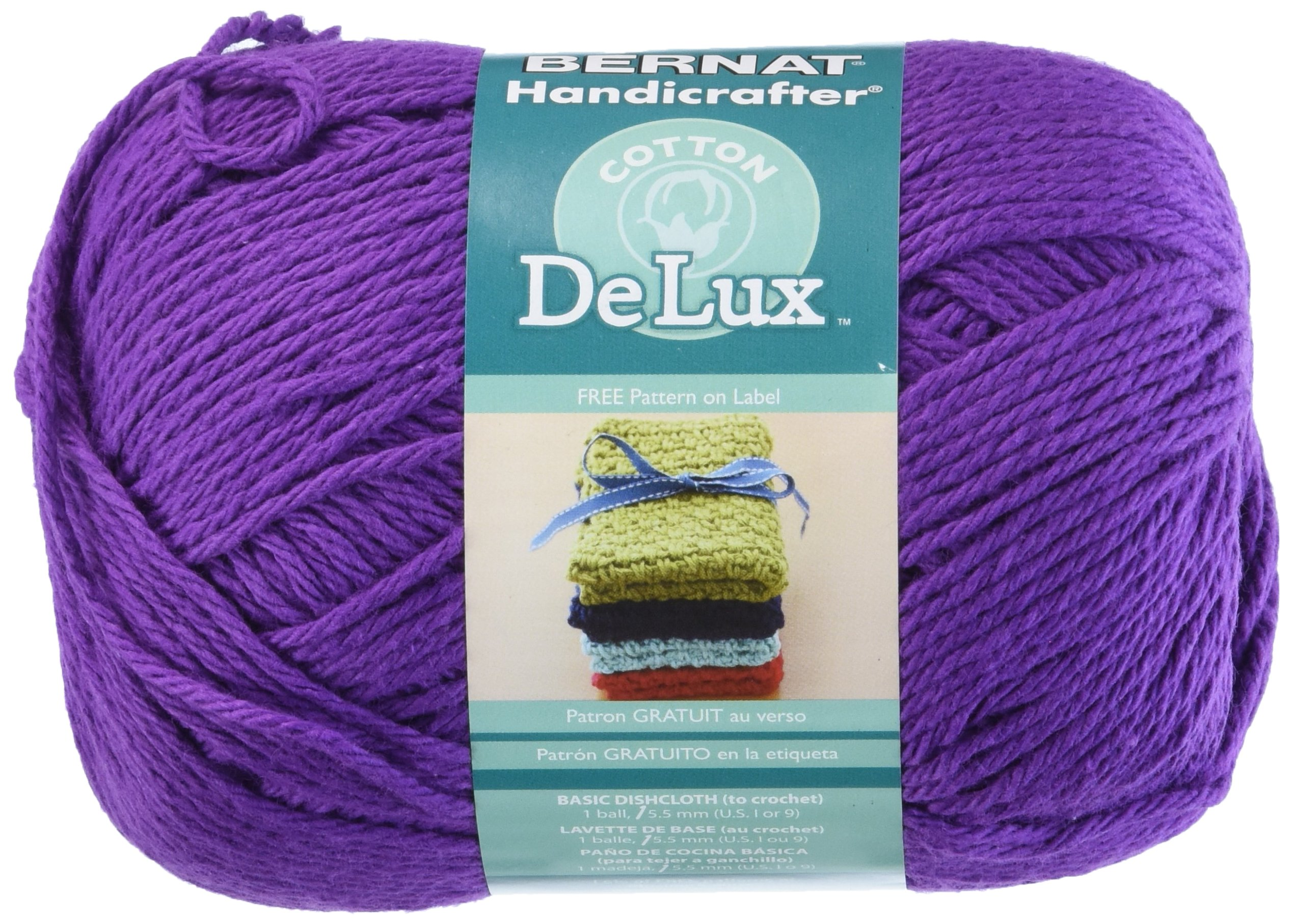 Spinrite Handicrafter Delux Cotton Yarn, Purple by Spinrite (Image #1)