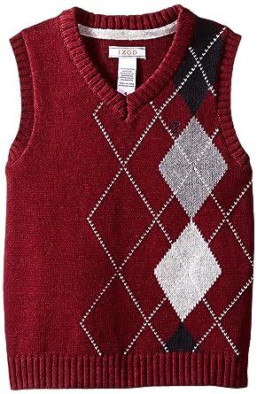 Boys Argyle Sweater Vest