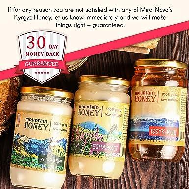 Miel pura de color blanco natural natural (paquete de 3) de ...