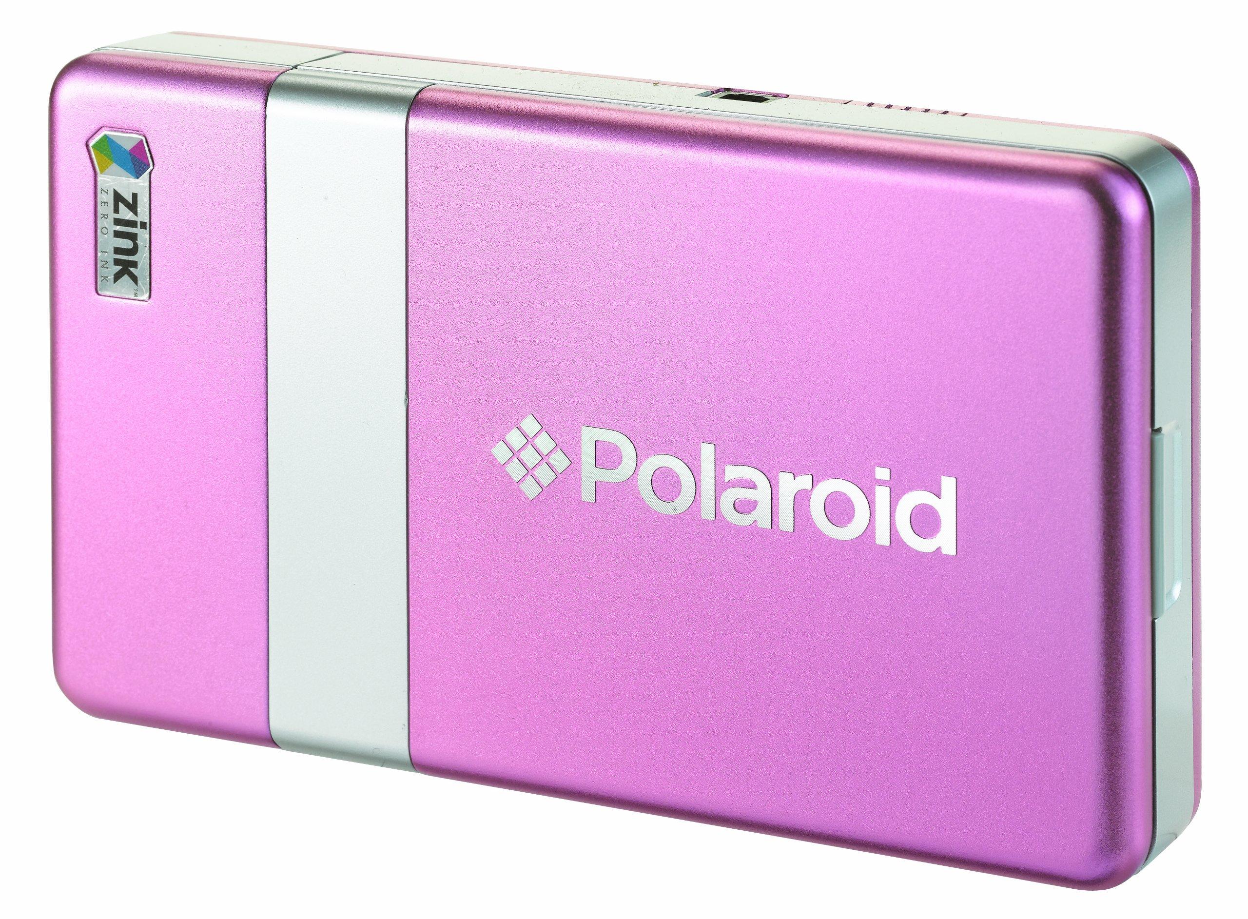 Polaroid PoGo CZA-10011P Instant Mobile Printer (Pink)