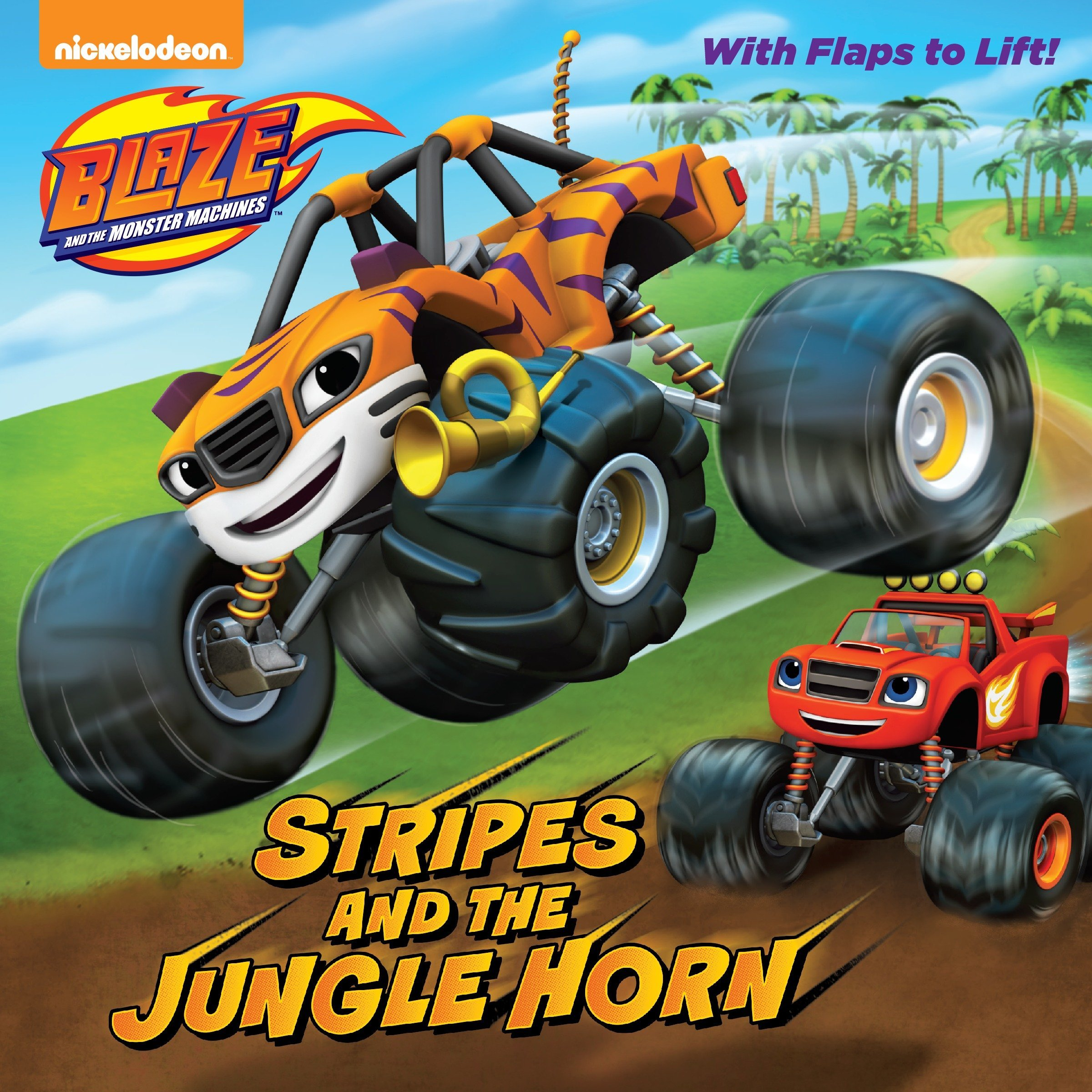Read Online Stripes and the Jungle Horn (Blaze and the Monster Machines) (Pictureback(R)) PDF