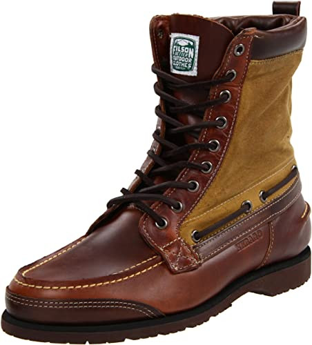 b80278cb035 Amazon.com | Sebago Men's Osmore, Brown Oiled Waxy, 7 M US | Boots