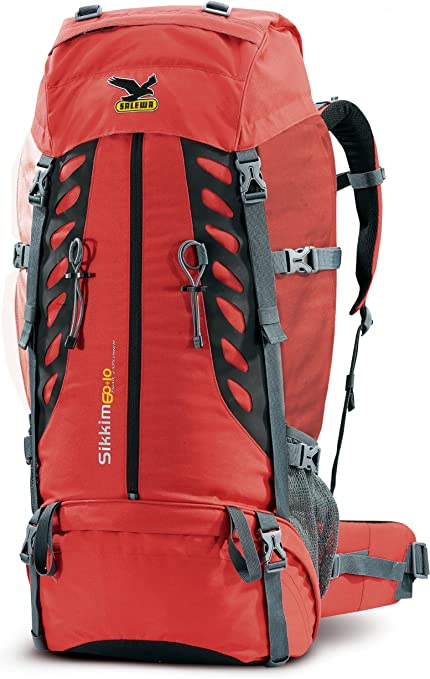 Salewa Sikkim 60 10 Rucksack Red Amazon De Sport Freizeit