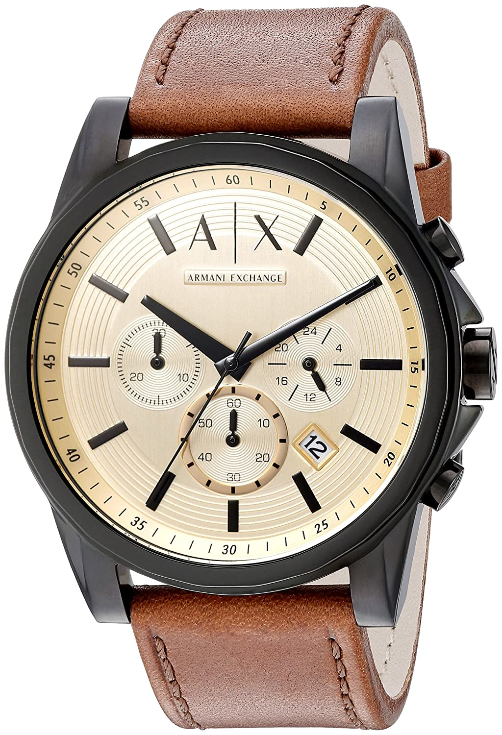 c8128ab20bf7 Buy Armani Exchange Analog Gold Dial Men s Watch - AX2511 Online at Low  Prices in India - Amazon.in