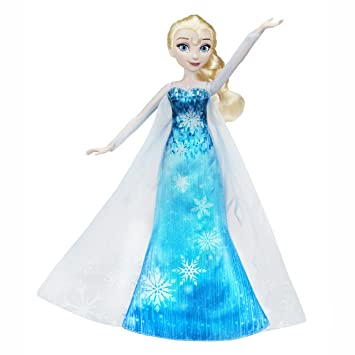 disney reine des neiges c0455eu40 elsa robe musicale - Barbie La Reine Des Neiges