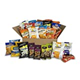 Send & Share Variety Snack Box, Assortment of Baked, Popped and Nut Snacks, 30 Count